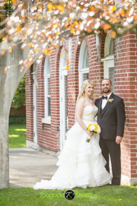 Wedding Couple Fall Photo