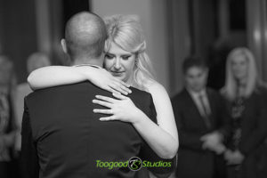 First Dance for the wedding couple